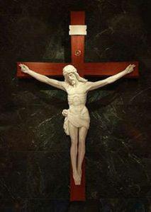 Crucifix in St. Thomas More Catholic Church