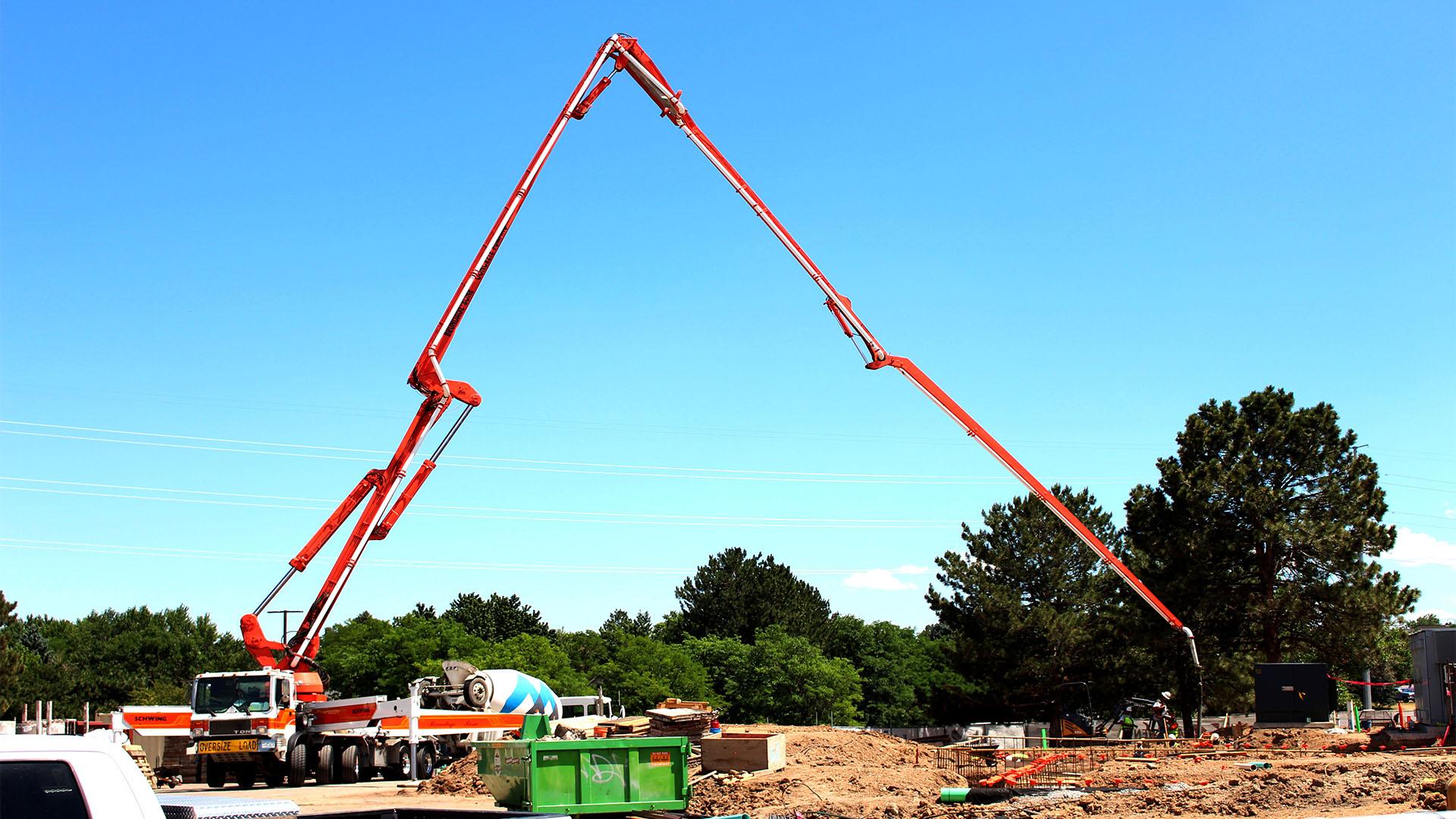 Cement Crane